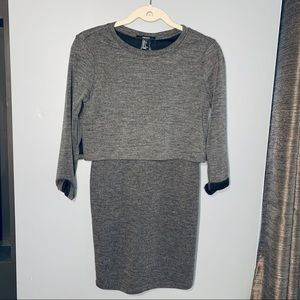 Forever 21 Grey Mini Dress